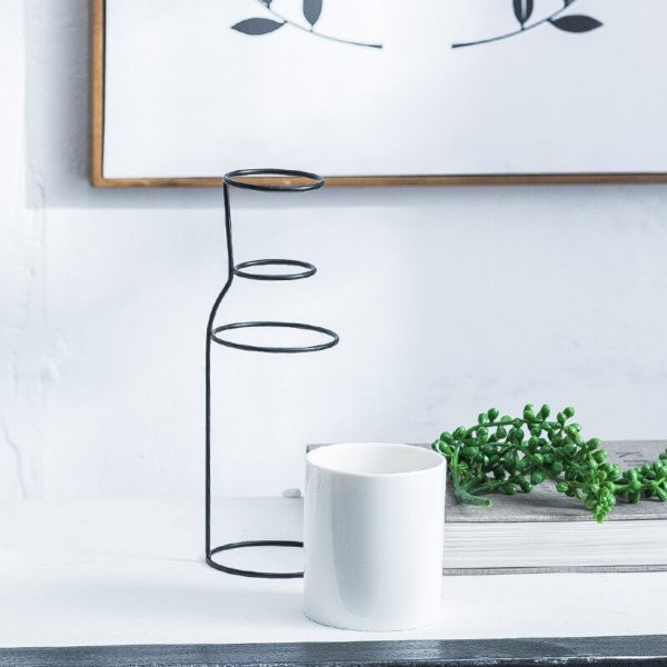 Ceramic vase and pottery for decoration | Nordic decoration, home art design, Scandinavian minimalist style vase, modern home decor accessories