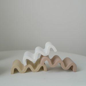 Porte-savon ciment de couleur nordique | Porte-savon, couleur Morandi, étui de Support de savons, plateau de plat, organisateur de bijoux, décor de salle de bain à domicile