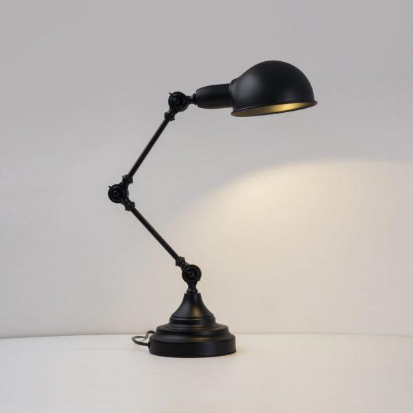 Oygroup-lampe de bureau sur support réglable avec bras Long pivotant, lumière de bureau, E27, 25W