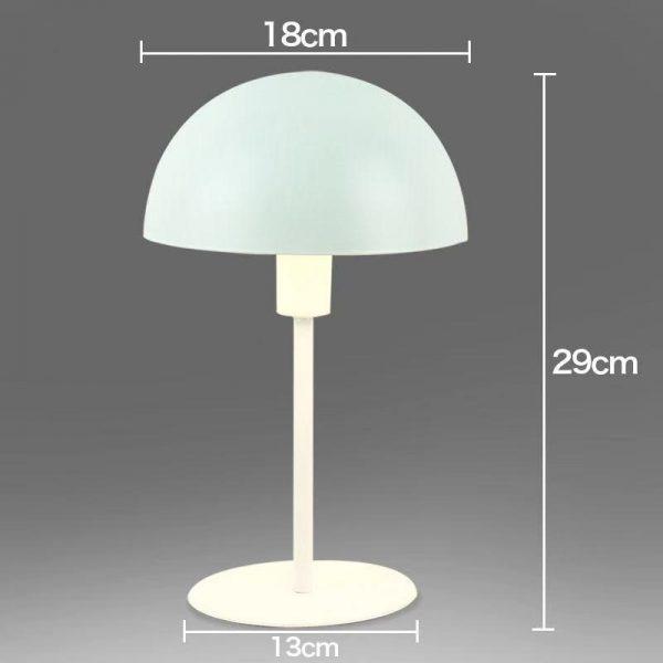 Lampe LED en forme de champignon en métal minimaliste, petite lampe de Table, protection des yeux, pour bureau, dortoir, pour étudiants, lampe de chevet enfichable