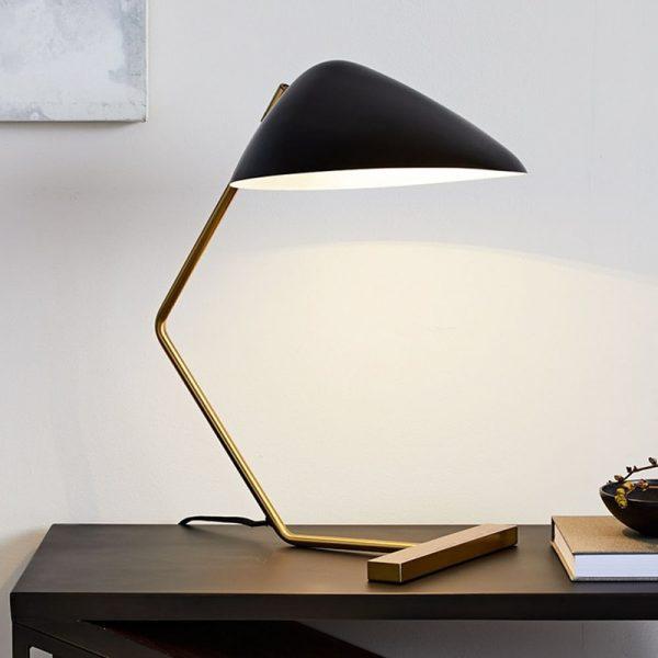 Lampe de Table en forme de bec de canard E27, style nordique post-moderne, idéal pour un salon, une chambre à coucher, un bureau ou une Table de chevet