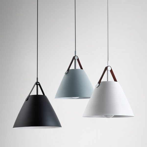 Northern European Restaurant pendant lamps modern single bedside lamp/counter/clothing/coffee store lamps for kitchen
